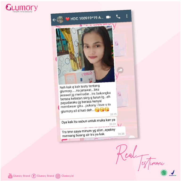 Testimoni Glumory Health & Beauty
