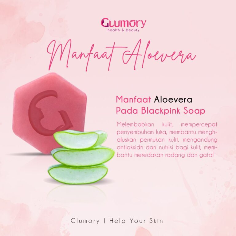 Manfaat Glumory Blackpink Soap