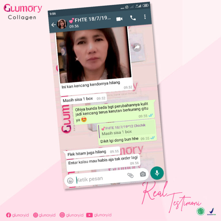 Testimoni Glumory Collagen