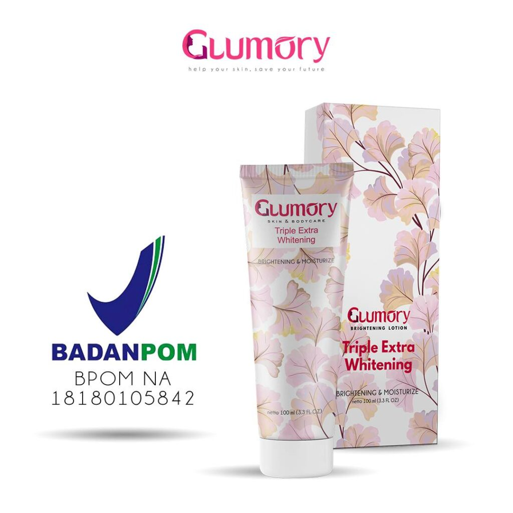 BPOM Glumory Lotion Brightening