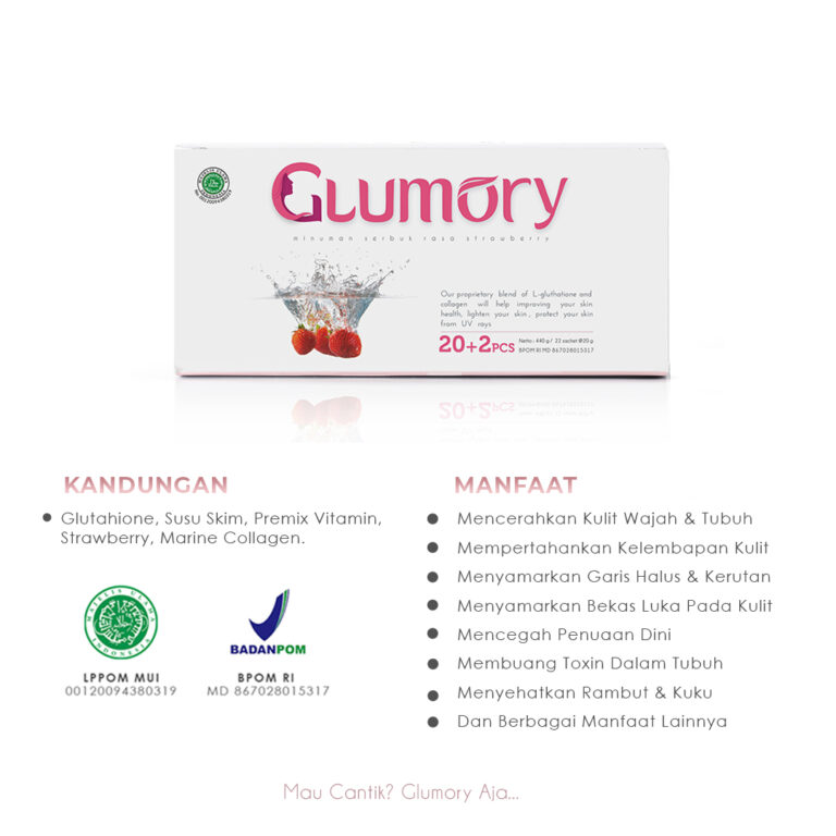 Glumory Collagen Manfaat & BPOM