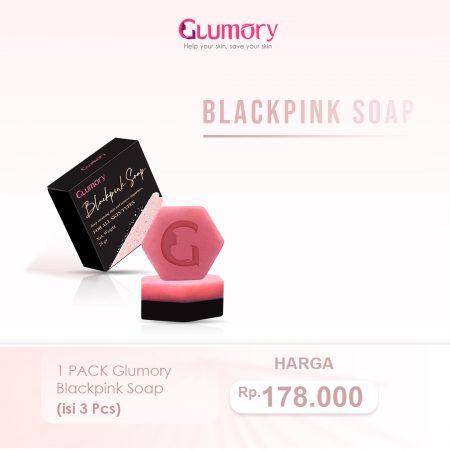 1 Pack Glumory Blackpink Soap