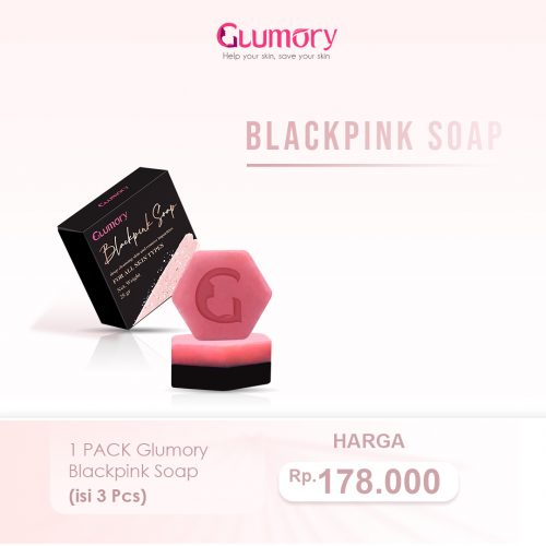 1 Pack Glumory Blackpink Soap