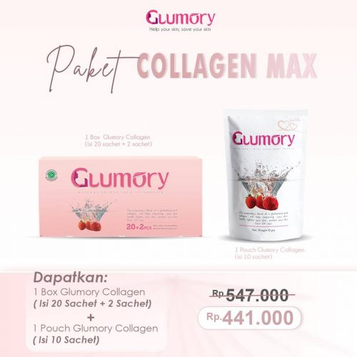 Paket Glumory Collagen Max