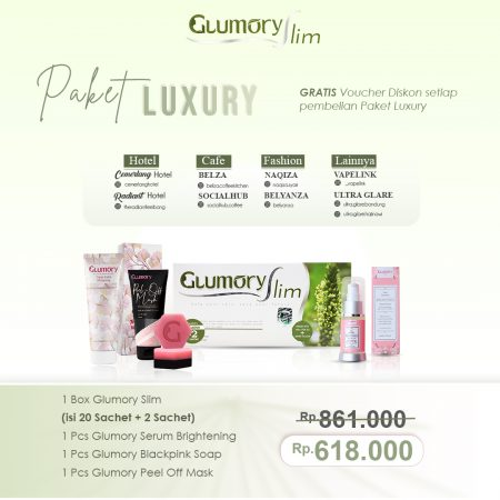 Glumory Paket Luxury Slim