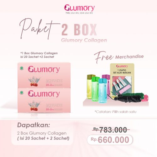 Paket 2 Box Glumory Collagen