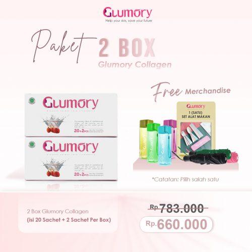 Harga Paket 2 Box Glumory Collagen