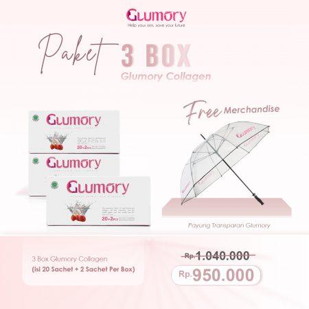 Harga Paket 3 Box Glumory Collagen