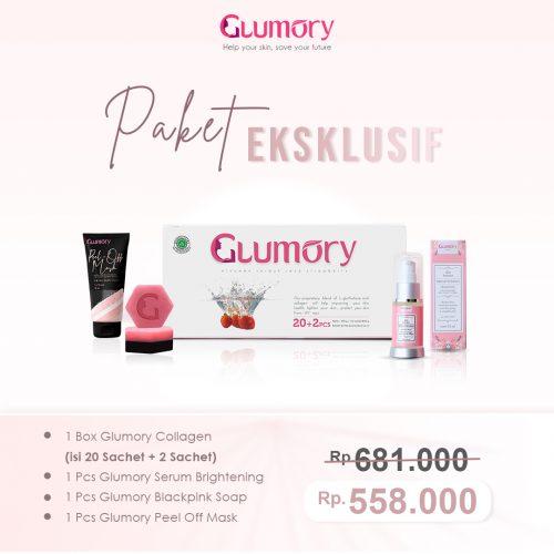 Harga Paket Eksklusif Glumory Collagen