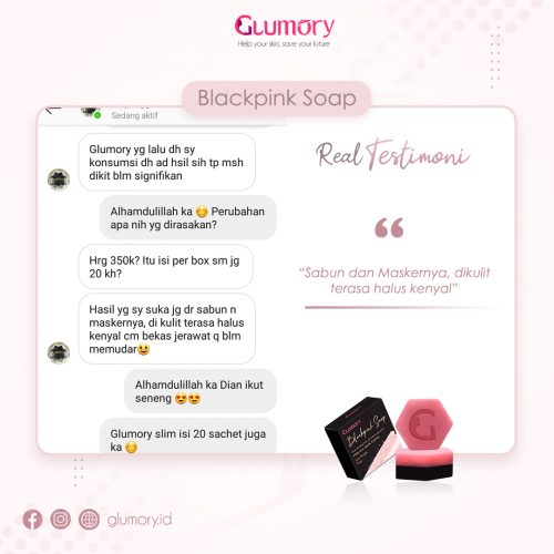 Testimoni Glumory BlackPink Soap (10)
