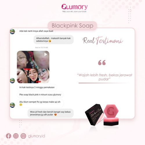 Testimoni Glumory BlackPink Soap (19)