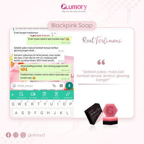 Testimoni Glumory BlackPink Soap (21)