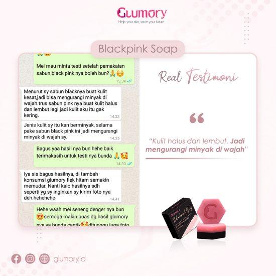 Testimoni Glumory BlackPink Soap