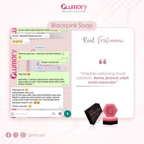 Testimoni Glumory BlackPink Soap (30)
