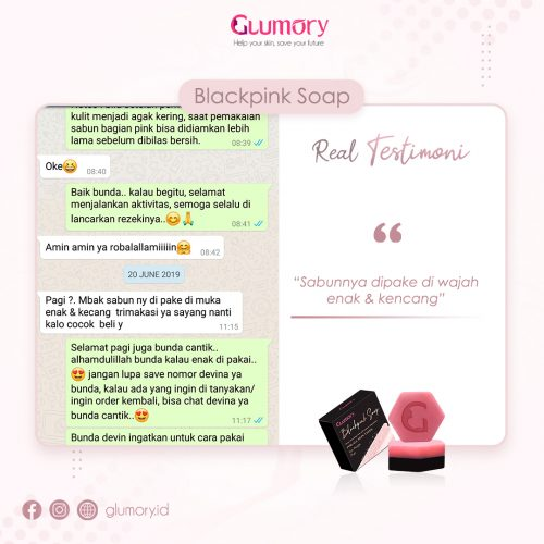 Testimoni Glumory BlackPink Soap (35)
