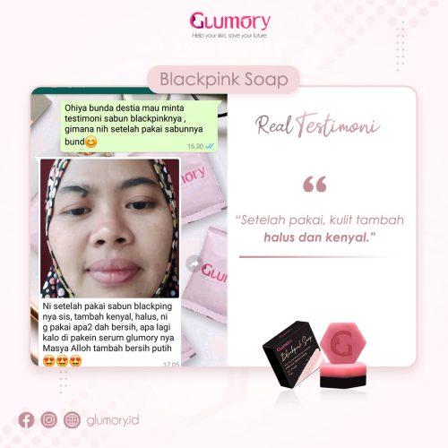 Testimoni Glumory BlackPink Soap (4)