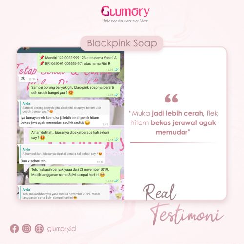 Testimoni Glumory BlackPink Soap (40)