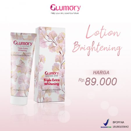 Harga Glumory Lotion Brightening